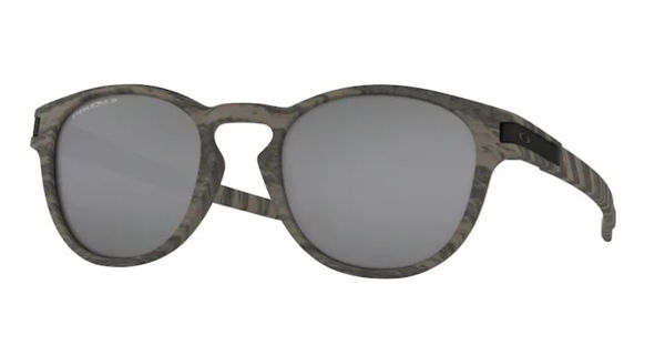 Oakley Latch - Woodgrain/Prizm Black Polarized One Size