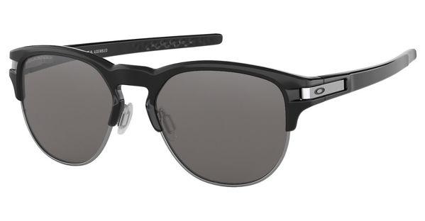Oakley Latch Key - Polished Black/Black Iridium Polarized