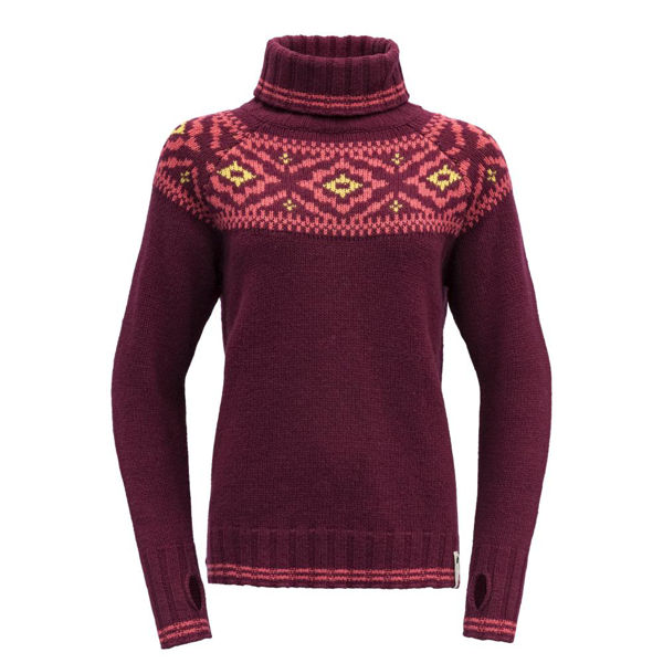 Devold  ONA WOMAN ROUND SWEATER M