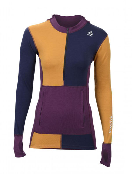 Aclima WarmWool Hoodie with zip, Woma S