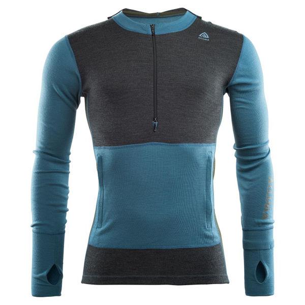 Aclima WarmWool Hood Sweater Net, M M