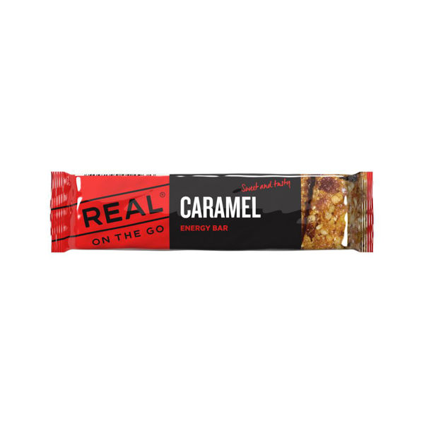 Real Turmat  OTG Energy bar Karamell