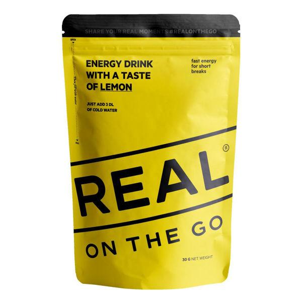 Real Turmat  OTG Energy drink Lemon