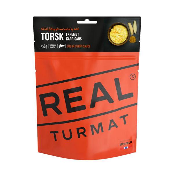 Real Turmat  Torsk i kremet karrisaus 500 gr OneSize