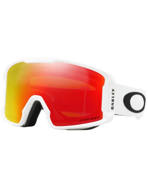 Oakley LINE MINER XM - Matte White/Prizm Snow Torch Iridium