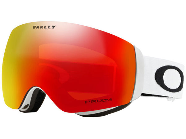 Oakley FLIGHT DECK - MATTE WHITE/PRIZM SNOW TORCH IRIDIUM One Size