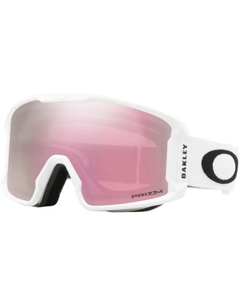 Oakley  LINE MINER XM- Matte WHITE/Prizm SNOW HI Pink Iridium