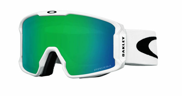 Oakley  LINE MINER XM- Matte WHITE/prizm snow jade iridium