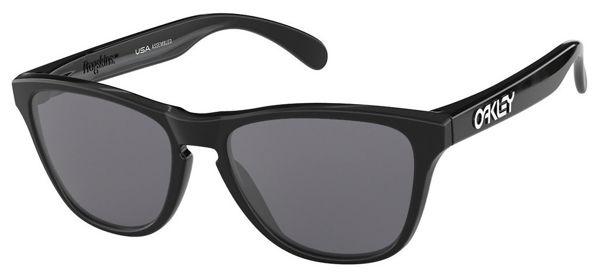 Oakley  Frogskins XS - Polished Black/Grey