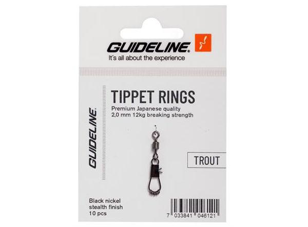 Guideline Tippet Rings - 2mm/12kg
