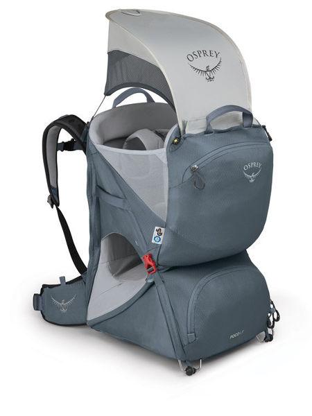 Osprey Poco LT Child Carrier Tungsten Grey O/S