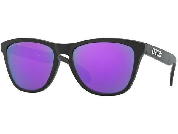 Oakley Frogskins XS - Matte Black/Prizm Violet