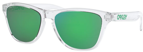 Oakley Frogskins XS - Polished Clear/Prizm Jade