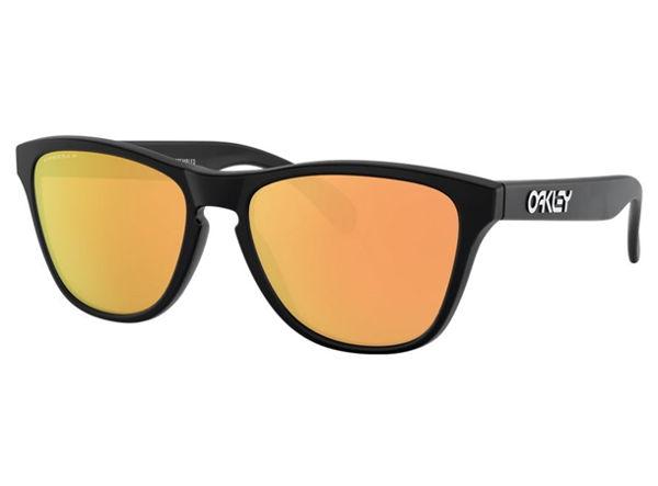 Oakley Frogskins XS - Matte Black/Prizm Rose Gold Polarized