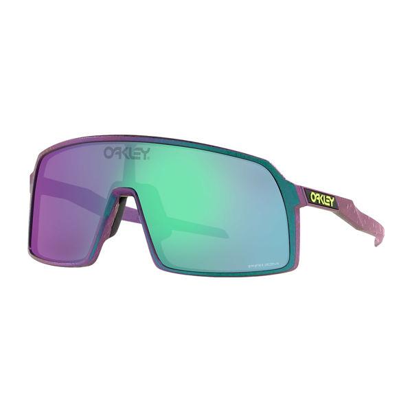 Oakley Sutro - Green Purple w splatter/Prizm Road Jade