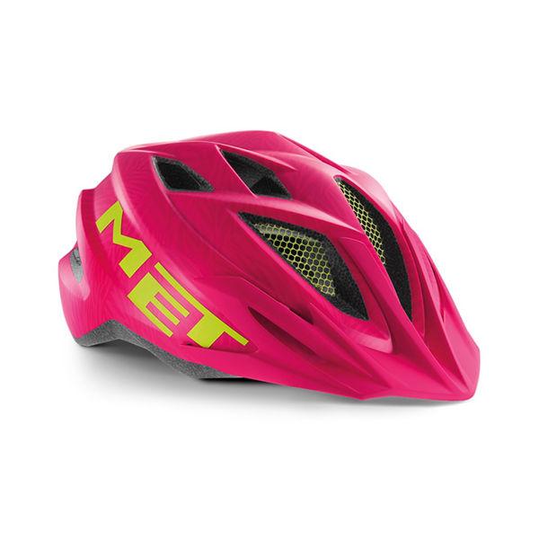 Met Helmet Youth Crackerjack, 52-57cm - Rosa