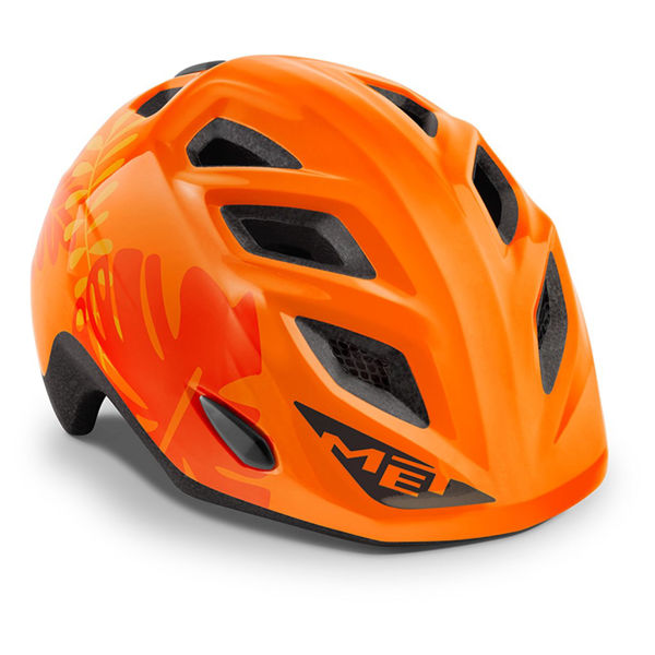 Met Helmet Kids Elfo, 46-53cm - Orange Jungle
