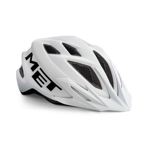Met Helmet Youth Crackerjack, 52-57cm - Hvit