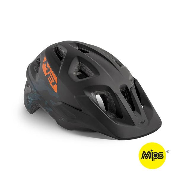 Met Helmet Youth Eldar Mips, 52-57cm - Black Camo