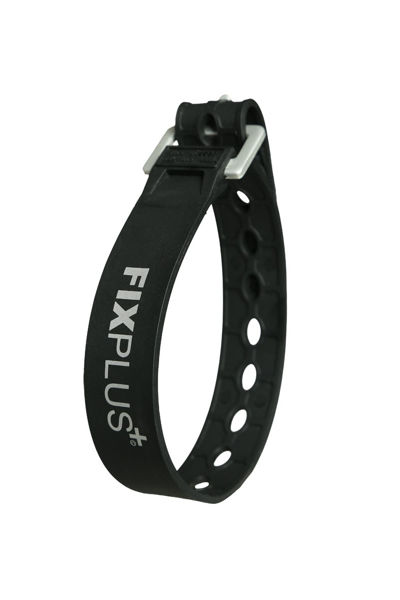 FixPlus  Skistropp 35 cm Black