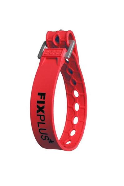 FixPlus  Skistropp 35 cm Red