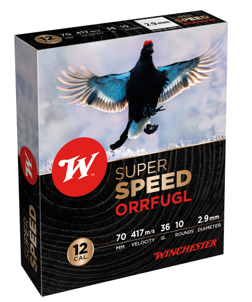 Winchester 12/70 SuperSpeed 36g Orrfugl (US5)