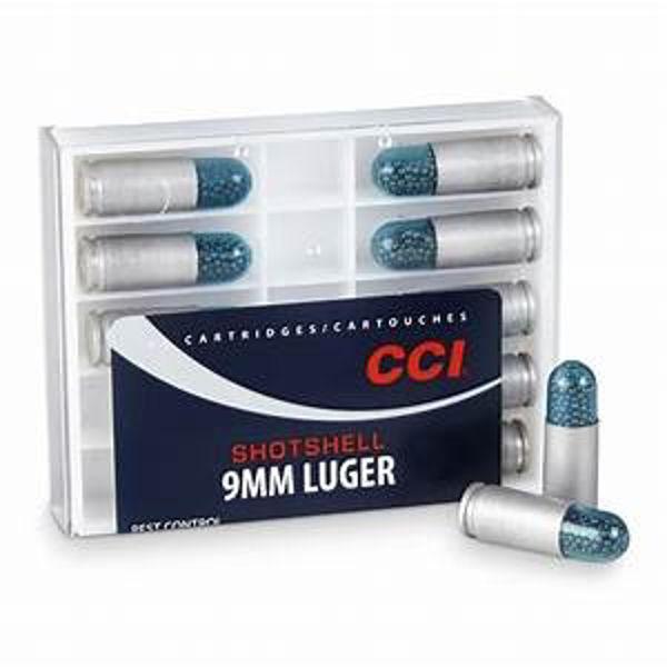 CCI Shotshell 9mm Luger