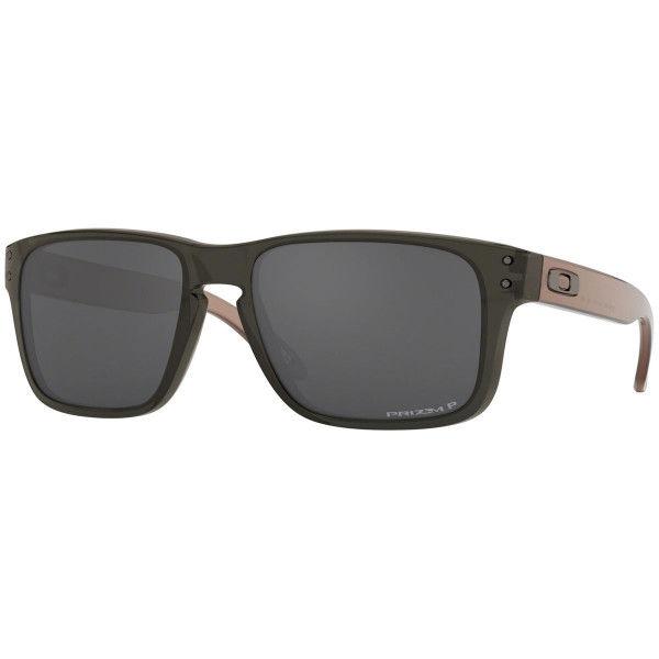 Oakley  Holbrook XS - Transculent Grey Smoke / prizm black polarized